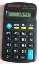 """Kenko electronic Calculator KK- 402 Works Well, Black  $ 1/2"""" X 2 1/2"""""""