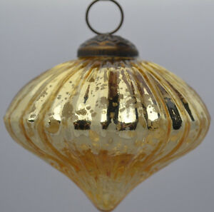 Christbaumkugeln Antik.5 Drescher Weihnachtskugeln Gold Antik Tropfenform Christbaumkugeln