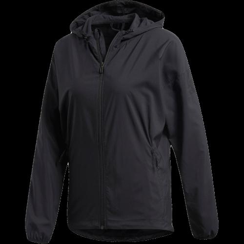 Adidas Mujer Chaqueta Tejida  CUBRIR Negro Nuevo Exterior 2019 CX5330 Active Wear  Venta al por mayor barato y de alta calidad.