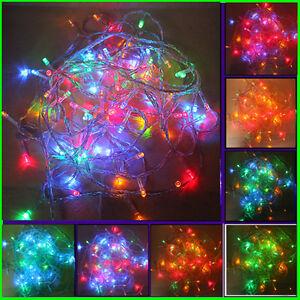 10M 100 LED String Light Waterproof Wedding Christmas Fairy Room Decorated Light