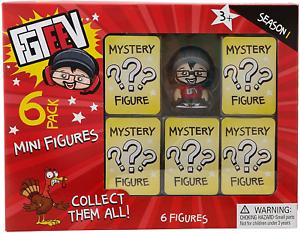 FGTeeV 404 mystère Figure 6 Pack de collection Multi assortis