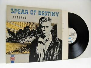 SPEAR-OF-DESTINY-outland-1st-uk-press-LP-EX-EX-DIX-59-vinyl-album-1987