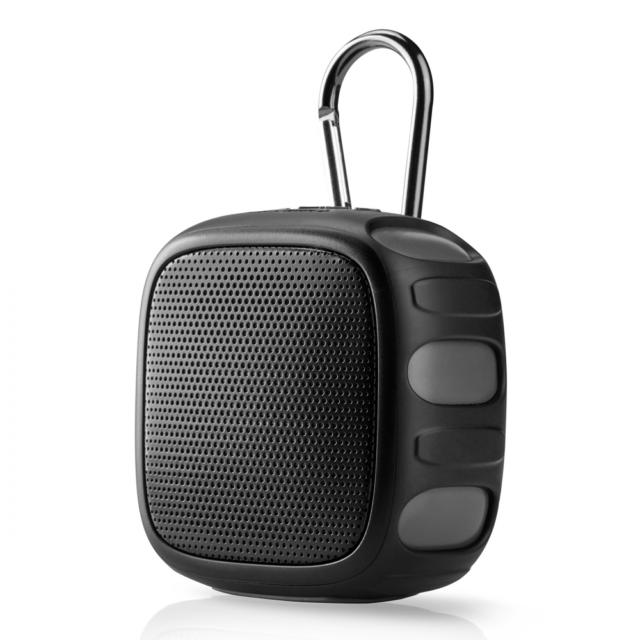 Blackweb Portable Rugged Bluetooth Speaker - Black (BWA9AA9)