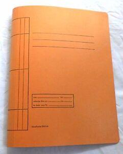 Schnellhefter-Papphefter-DIN-A4-20-Stueck-Orange
