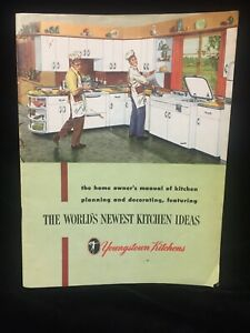 VINTAGE 1952 YOUNGSTOWN KITCHENS ORIGINAL CATALOG STEEL ...