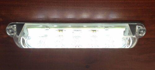 Pactrade Marine 4PCS Boat RV Auto 6 LED Strip Bar Utility Light surface Mount