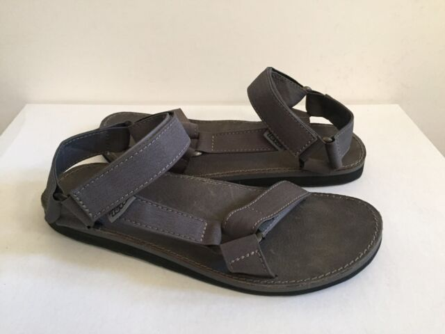 b90e390b449 TEVA MEN ORIGINAL UNIVERSAL CHARCOAL GREY SANDALS US 9 / EU 42 / UK 8 NIB
