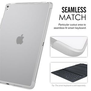 Apple-iPad-Pro-9-7-Case-Back-Cover-Compatible-With-Official-Smart-keyboard-Clear