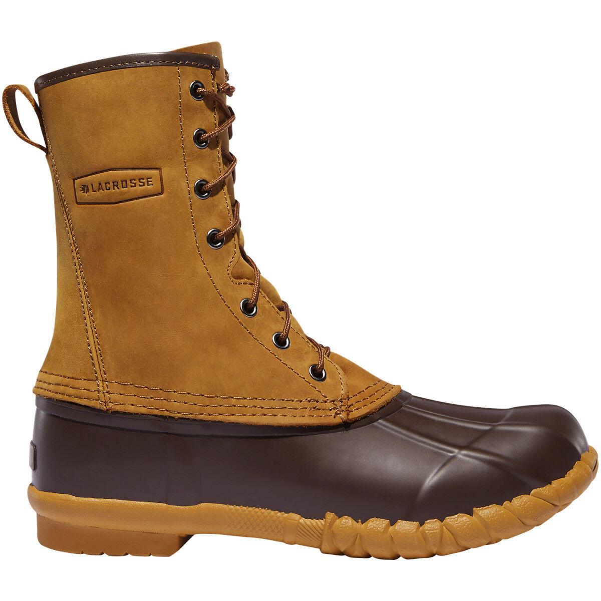 Lacrosse para hombres 273122 Uplander II 10  Marrón Aire Libre Invierno Nieve Calzado botas