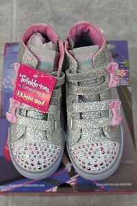 aa9d0b8681302 Image is loading Skechers-Toddler-TwinkleToes-SLights-Shuffles-Doodle-Days -10659N-