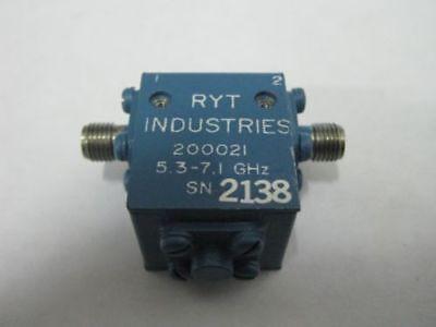 Aertech AMF-5223 Microwave RF Isolator 6-11 Ghz  SMA Connectors