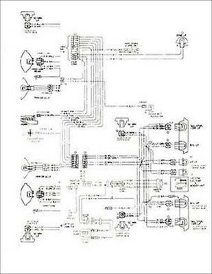 1977 chevy nova and concours foldout wiring diagrams chevrolet ...  ebay