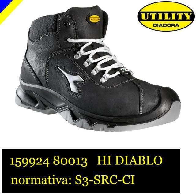 17b6aa98f3336d SCARPA LAVORO ANTINFORTUNISTICA DIADORA UTILITY HI DIABLO S3-SRC-CI NERO