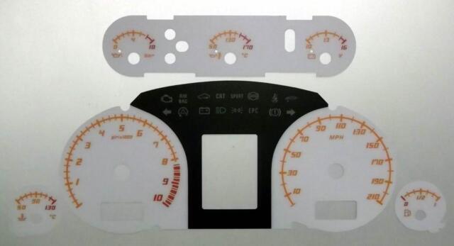 Lockwood Lamborghini Gallardo WHITE Dial Conversion Kit C832