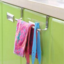 36cm Towel Rail Bar Holder- Kitchen Over the Door Cabinet Storage Hanger