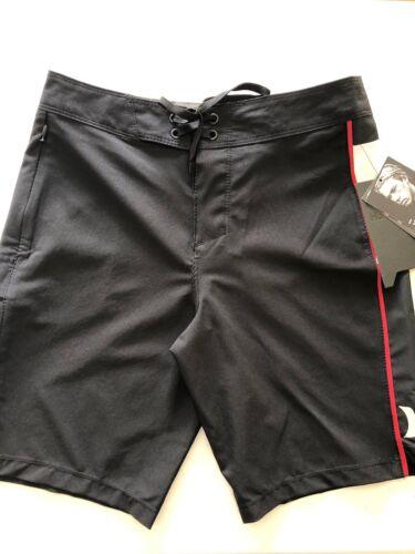 Hurley Boy/'s Size 10 16 20 Boardshorts JJF Phantom Black 982773 Surf Swilm