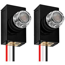 Photoelectric Switch Automatic Dusk Dawn Photocell Sensor For Most Hardwire Lamp