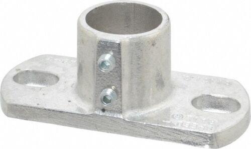 Base Flange Aluminum Alloy Pipe Rail Fitting Bri... Hollaender 1-1//4 Inch Pipe