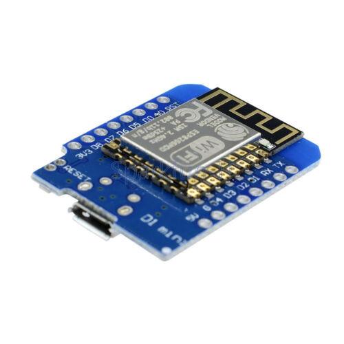 ESP8266 ESP12 WeMos D1 Mini WIFI NodeMcu Lua Development Board SMA Antenna 2.4G