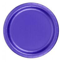 Creative Converting Dinner Plates 24 Count 10 - 1/4 Inch Diameter Purple