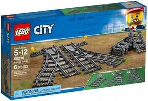 Original-LEGO-Switch-Tracks-to-TRAIN-SET-60238-NEW-SEALED