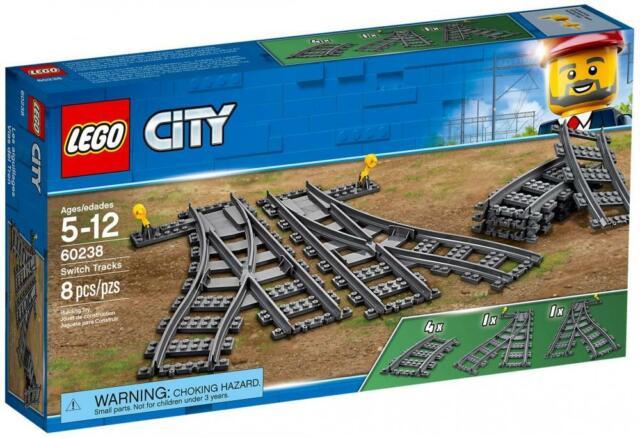 Original LEGO - Switch Tracks - to TRAIN SET - 60238 - NEW SEALED