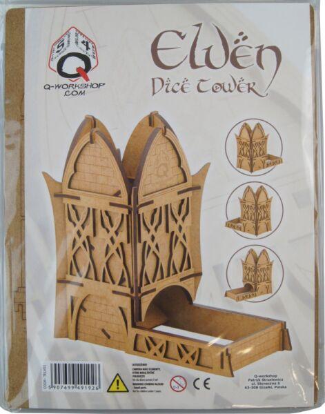 Abile Elven Dice Tower-q-workshop Di Cubi Torre