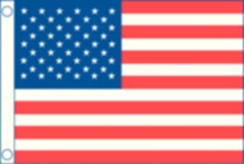 "50 Star Flag Nylon 12/"" X 18/"" Novelty Boat Made in USA TAY 8418 New U.S"
