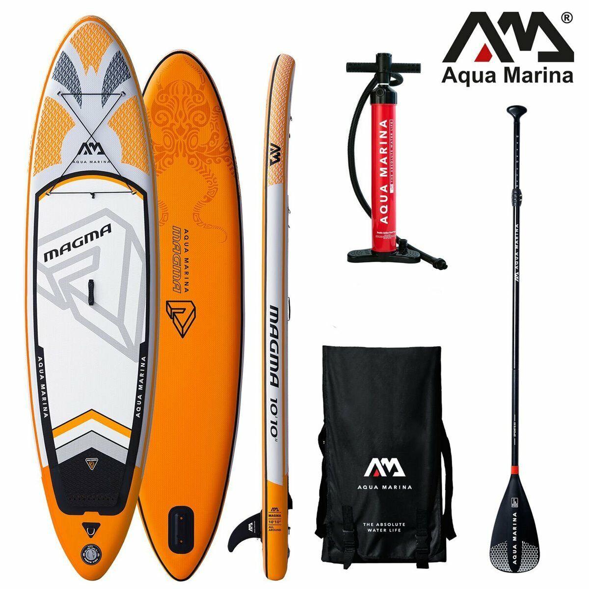 Aqua Marina Magma Stand Up Paddle Tabla Sup Tablero de Paddel Isup Sport Remos