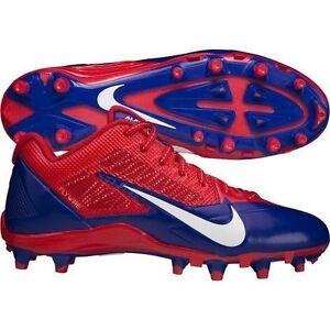 Nike Alpha Pro TD Low (NFL BILLS) Men's Football Cleats 618055-604 MSRP $140
