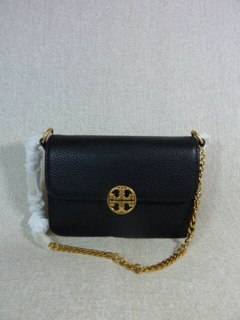 563fdf53bb7d Tory Burch Chelsea Mini Crossbody Bag 41932 Black for sale online