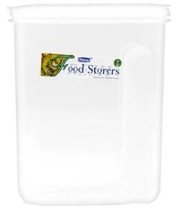 Plastique Aliments Container Céréale Distributeur Hermétique Couvercle Dry Pet Food Pasta Rice-afficher Le Titre D'origine Belle Et Charmante