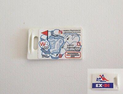 AA109 Bac Vert Glacière Expédition EX-DI 3184 3193 PLAYMOBIL DINOSAURES