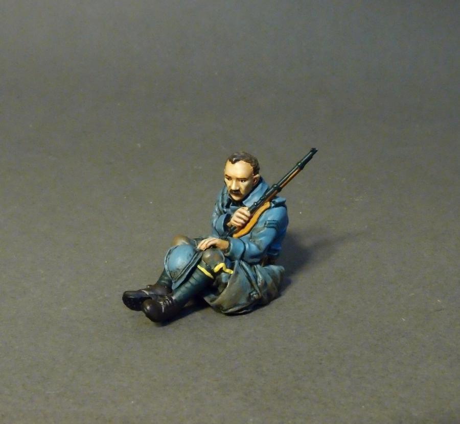 JOHN JENKINS DESIGNS WW1 THE THE THE GREAT WAR GWF-01B FRENCH TANK RIDER MIB 1b4162