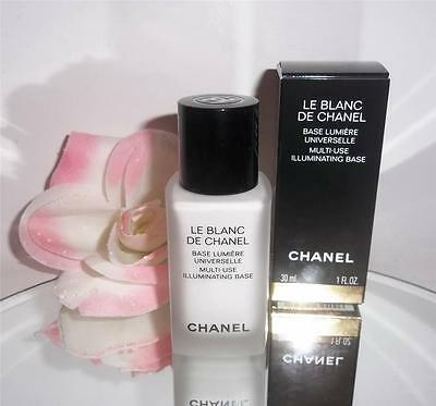 Le Blanc De Chanel Multi-Use Illuminating Base 1oz Sheer Foundation Primer