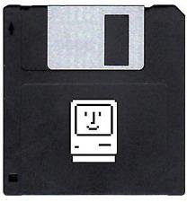 Apple Macintosh SE, Classic & Plus Boot Disks Vintage