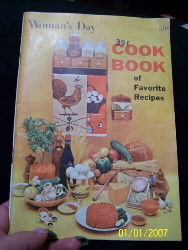 1958 Woman's Day Cookbook of Favorite Recipes