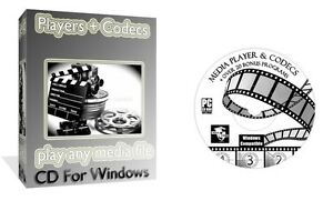 Details about Media Players Codecs Converters Pack- Play Any DVD AVI MP3  DIVX Blue Ray PC DVD