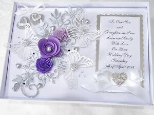 Anniversary Wedding Card Handmade Personalised Engagement