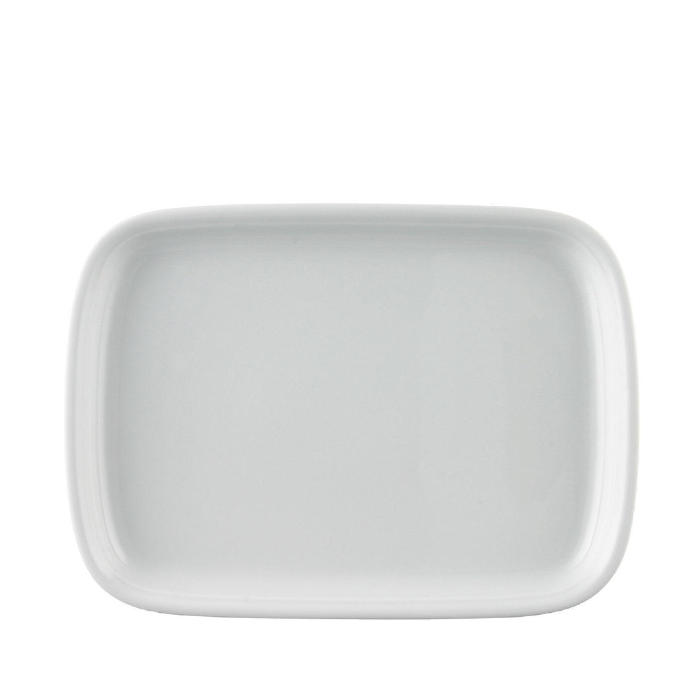 THOMAS Porzellan TREND weiß - Platte 28 cm - weiss Servierplatte Platte - 12728    | Modernes Design