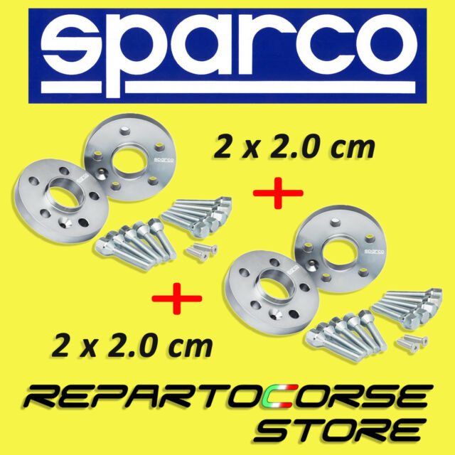 SPACERS SPARCO 20 + 20 mm RENAULT MODUS - FROM 2004