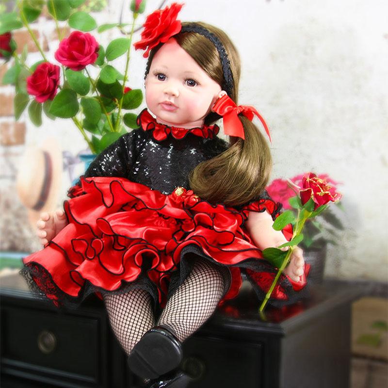 Muñeca Reborn Bebé niñas niño realista Muñecas Realistas Bebes Regalo Juguetes de silicona