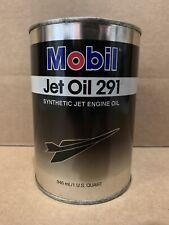 Mobil Jet Oil II Case of 4 QT Aviation Gas Turbine Engine