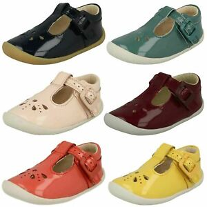 Clarks Girls Pre-Walker T-Bar Shoes