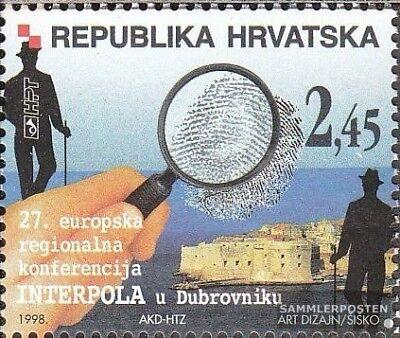Postfrisch 1998 Regionalkonferenz Interpol kompl.ausg. PräZise Kroatien 458