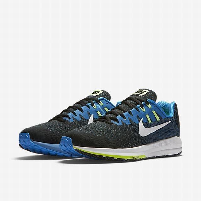 sports shoes f7139 592ea Nike Air Zoom Structure Men s Sizes 11.5-12 (4E), White Photobluee NEW 20,  Black nxrjpb1271-Men s Athletic Shoes