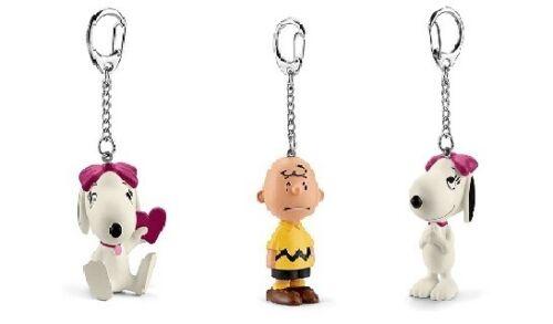 Belle Peanuts Schleich Keychain Charlie Brown