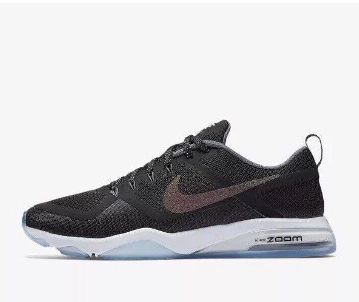Wmns Nike Air Zoom Fitness Taille UK 7.5 EUR 42 Noir Métallique Multi (922877-001)