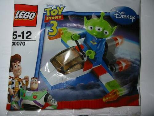*NEW* Lego Disney Pixar TOY STORY Green Alien on Spaceship 30070 Polybag