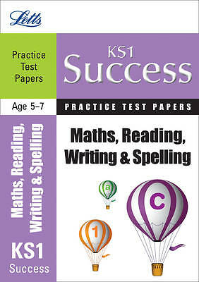 1 of 1 - Key Stage 1 Reading, Writing and Maths (Letts Key Stage 1 Success)-Excellent